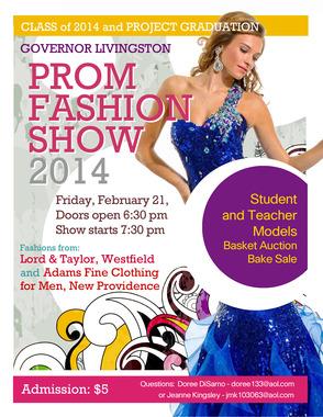 Gov. Livingston Prom Fashion Show, Friday, Feb. 21, photo 1