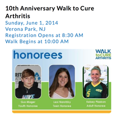 10th Annual Walk to Cure Arthritis