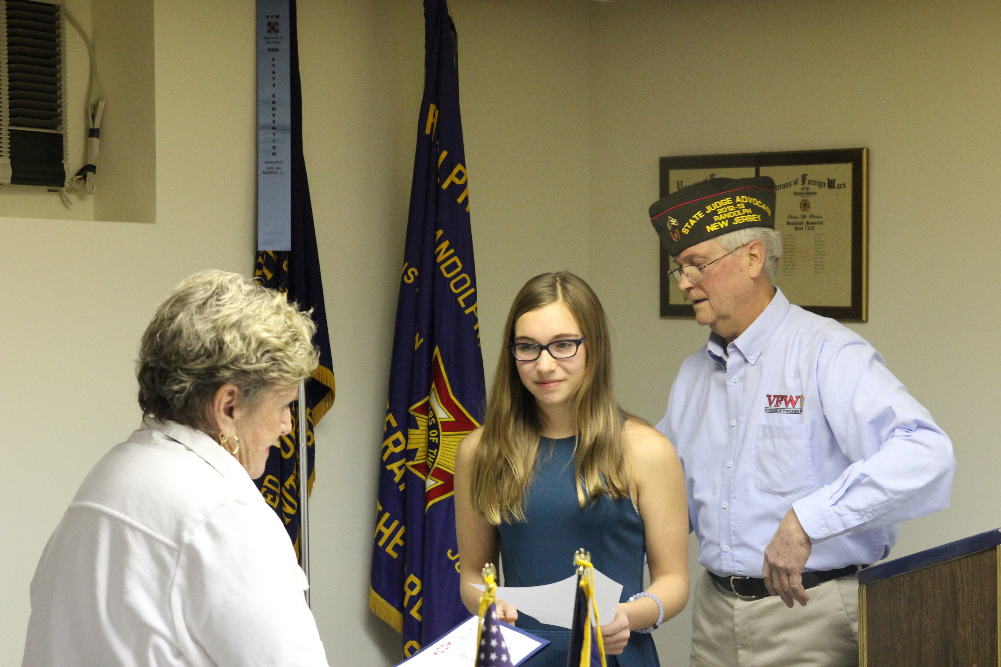Six Randolph Students Earn Scholarships From VFW For Patriotic Best cbcefe IMG  Six Randolph Students Earn Scholarships From Vfw