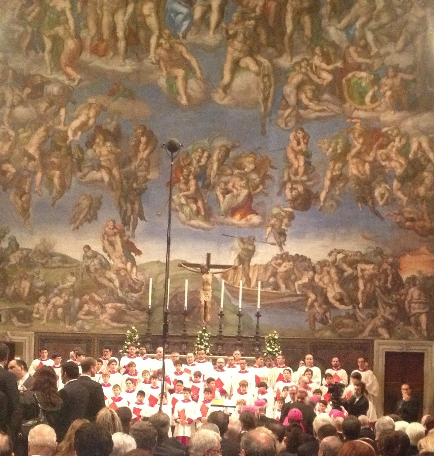 Summit Singers Prepare to Make History, Perform at Sistine Chapel