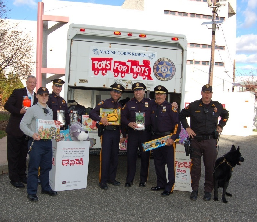 Toys For Tots Thank You : Somerset county sheriff frank j provenzano thanks