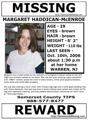 Margaret Haddican-McEnroe Still Missing , photo 1