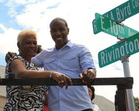 Roselle Honors Rev. Milton A. Byrd with Street Sign, photo 6