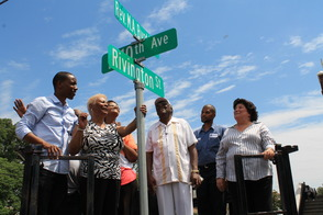 Roselle Honors Rev. Milton A. Byrd with Street Sign, photo 5