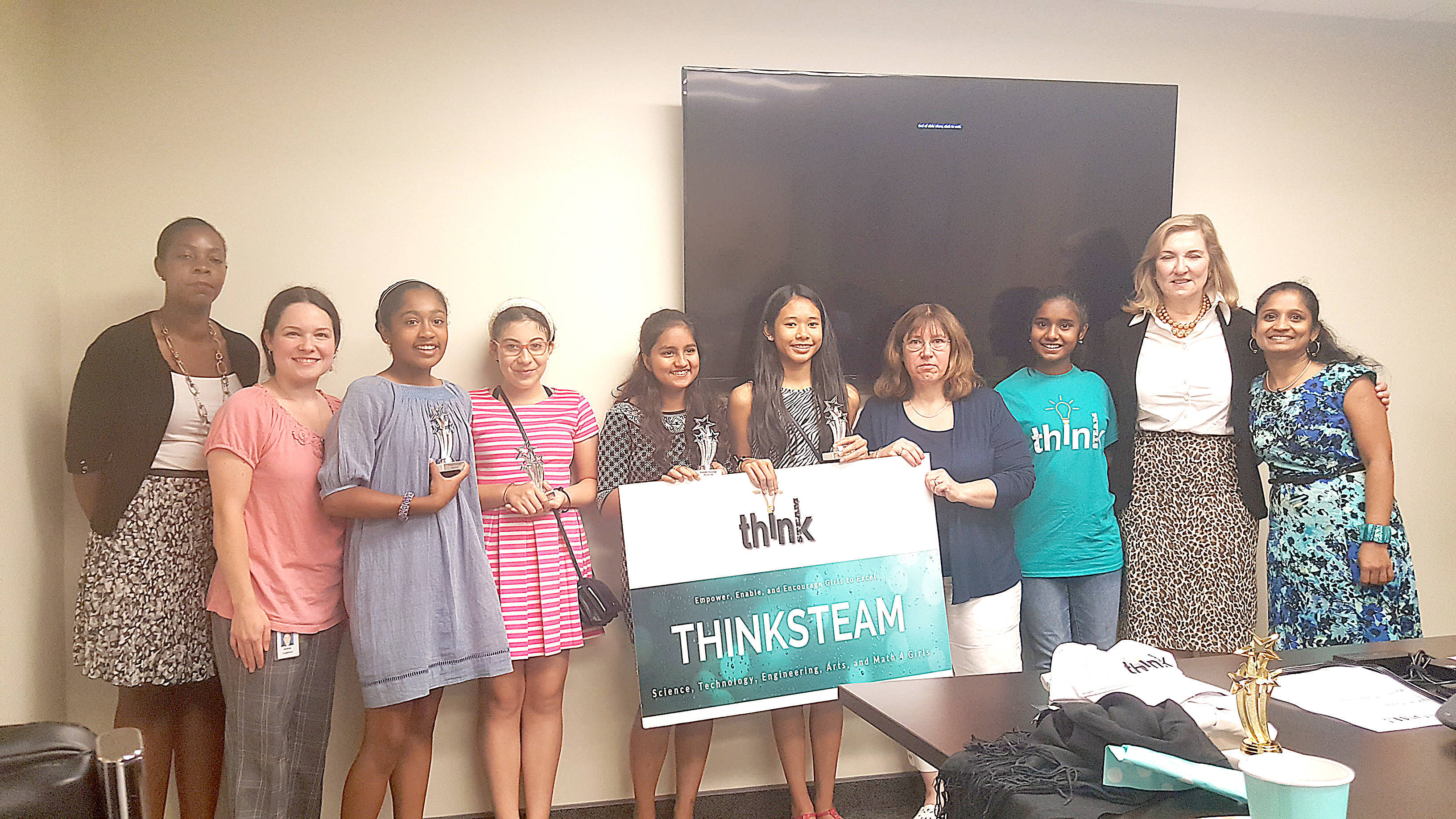 ThinkSTEAM Awards Middle School Students