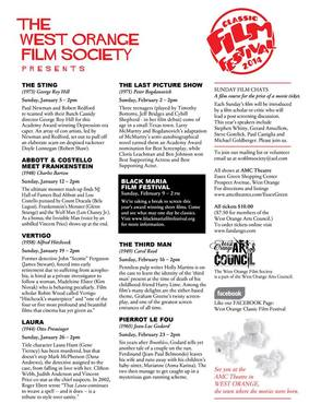 Film Festival Lineup