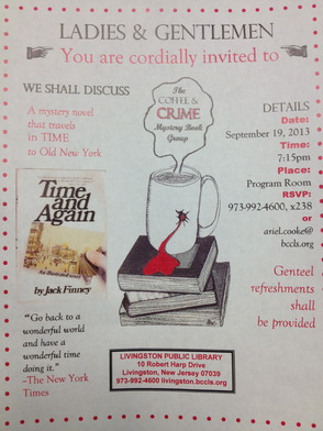 Book Club Discusses Mystery Title