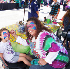 Face Painting and other events for kids at Fanny Wood Day