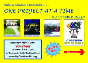Volunteer Now for Chatham Borough Spring Clean