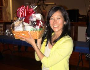 Jean Fei wins Mara's gift basket