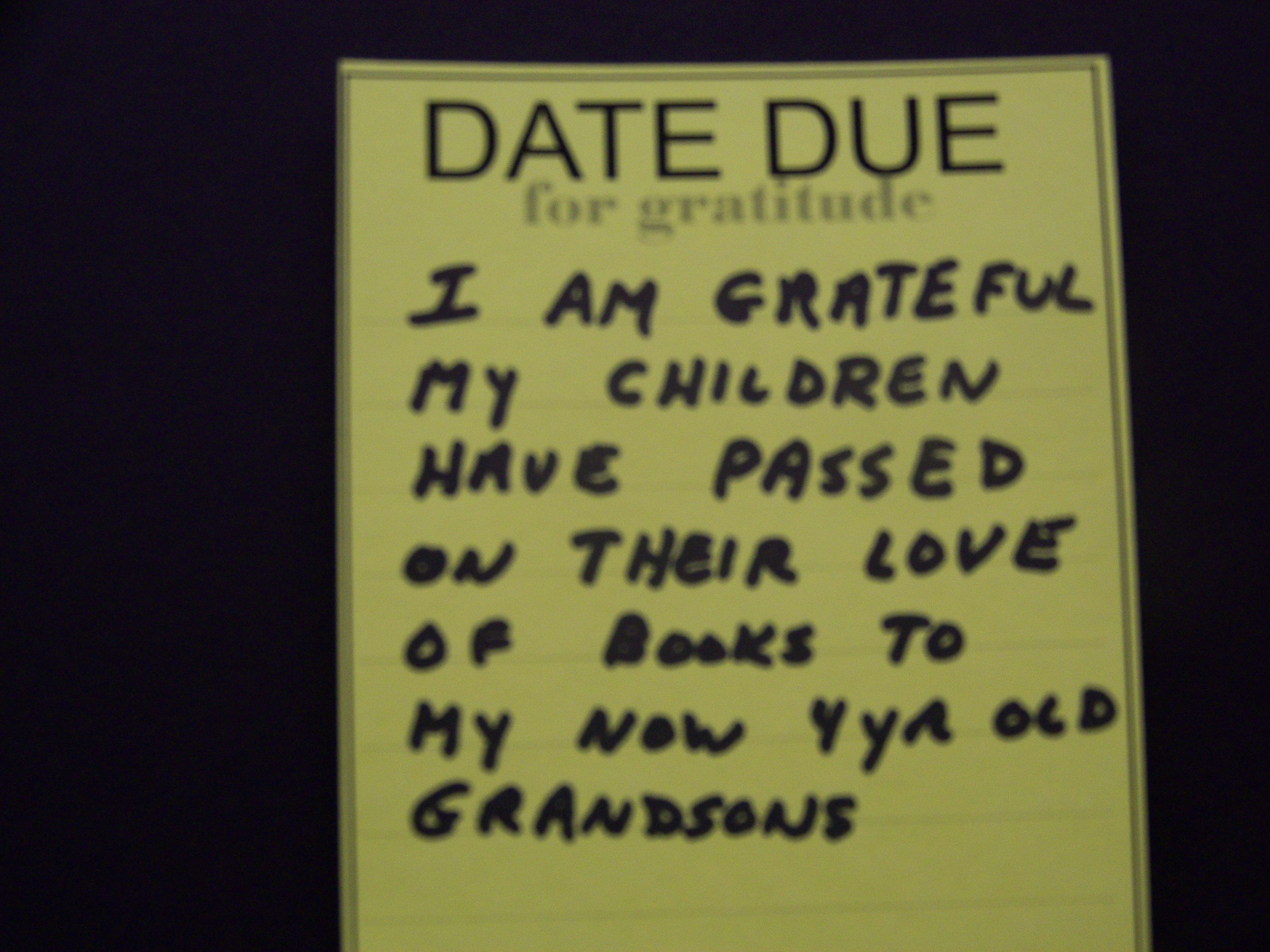 Gratitude Graffiti Project Spreads Across Maplewood and Beyond