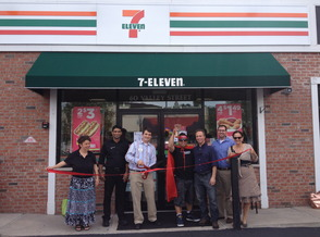 South Orange 7-Eleven Holds Grand Opening, photo 1