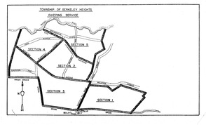 Berkeley Heights Chipping Map