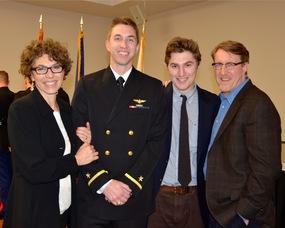 Rebecca Emert, Ensign David Emert, Jacob Emert, and Robert Emert, Jr.