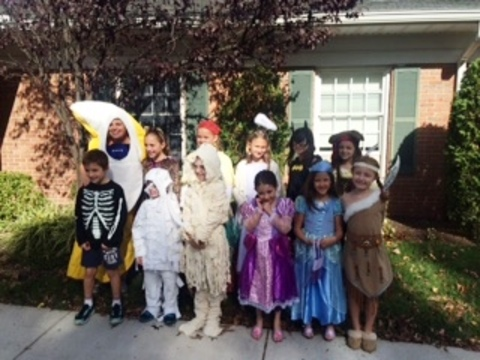 St Helen S Church Brings Annual Halloween Parade To