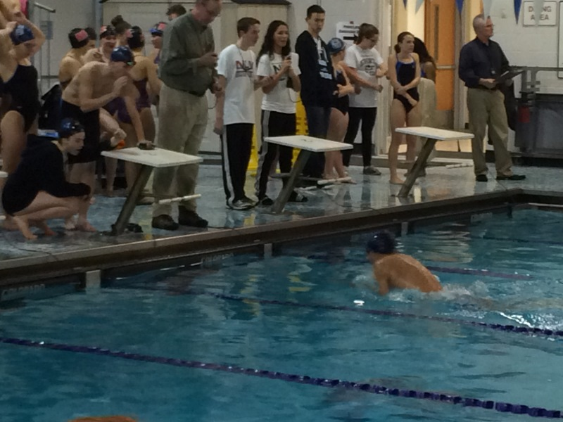 Sparta High School Swim Team Splits Against Unlv Sparta