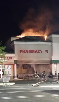 Two-Alarm Fire at Assi Market in Montgomery Township is Under Control in An Hour, photo 8