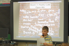 Poetry Café at Mountain Park Elementary School, photo 1