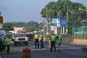 Police Investigating a Pedestrian Accident in North Plainfield