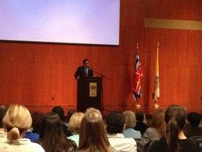 Seton Hall President Addresses Employees with State of the University, photo 1