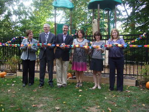 TS ECEP Ribbon Cut