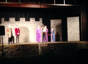 Richard III on Stage in Basking Ridge