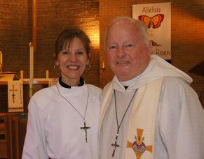 PastorJane McCready and Murdoch (Mac) MacPherson
