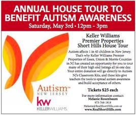 Short Hills House Tour to Benefit Autism Awareness, May 3, photo 1