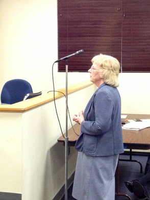 Former Mayor and Sussex Resident Katherine Little