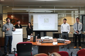 Seton Hall Marketing Students Present Ideas for Irvington Avenue Redevelopment, photo 4