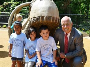 Investors Bank Supports Turtle Back Zoo Playground
