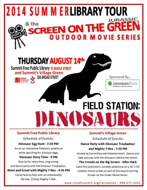 Dino-Mite: Field Station Brings Jurassic Age to Summit Aug. 14, photo 3