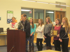 Students Honored at the Randolph Board of Education 2014 Organization Meeting, All Geared Up For The New Year, photo 8