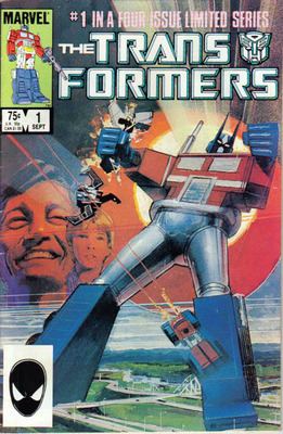 The Transformers Issue #1