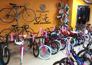 The Bike Exchange Showroom