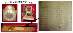 Williams Family Clock