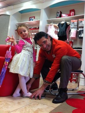Happy Feet Children's Footwear owner/operator