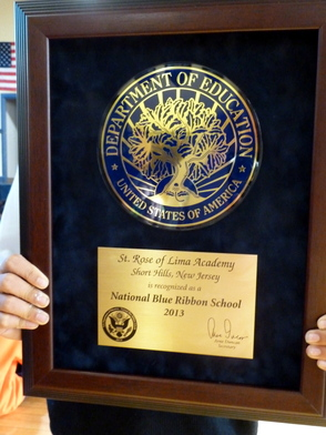 St. Rose of Lima Named National Blue Ribbon School, photo 3