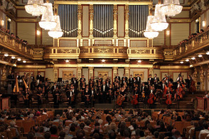 New Jersey Youth Symphony at the Musikverein in Vienna