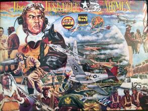 Tuskegee Airmen mural
