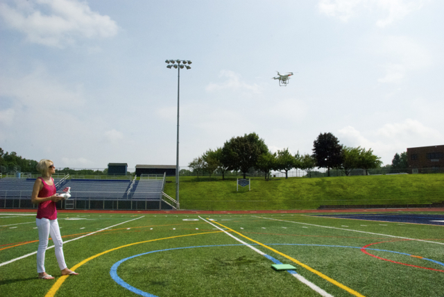 Amazing Aerial Views of Randolph; Flying Drones and Filming Trend Might Take Off