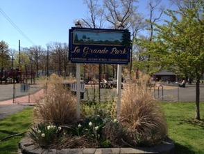 "La Grande Park ""before"""
