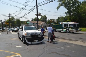 EMTs from RWJ Help a Man Injured in Accident
