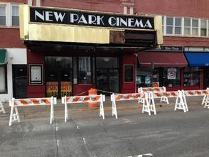 New Park Cinema Struck By Truck, photo 1