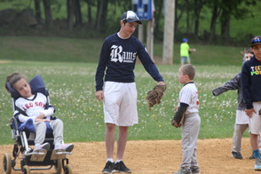 Randolph Youth Volunteers Help Make Challenger Game an Inspirational Experience For All, photo 5