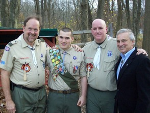 C.J. Scalera Earns The Honor of Eagle Scout , photo 2