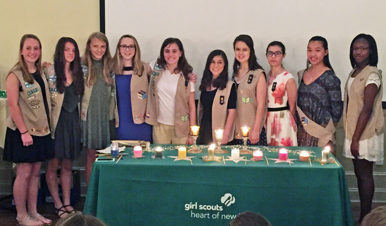 Cranford Girl Scouts Earn Gold and Silver Awards