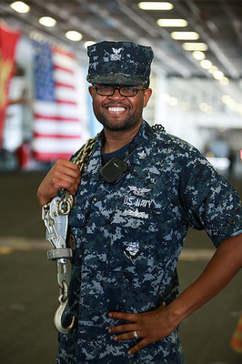 Petty Officer First Class Dwayne Black