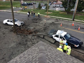 Chief Mike Mathis Provides Council With Overview of Recent Water Main Explosion, photo 1