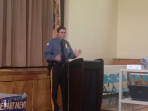 Town of Newton Police Chief Michael Richards.